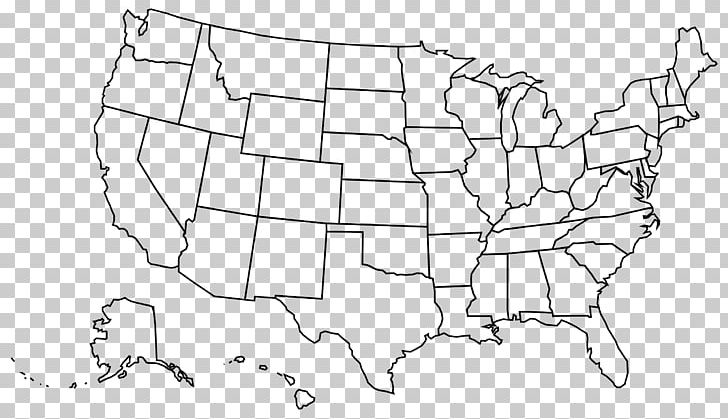 United States Blank Map U.S. State PNG, Clipart, Angle, Area ...