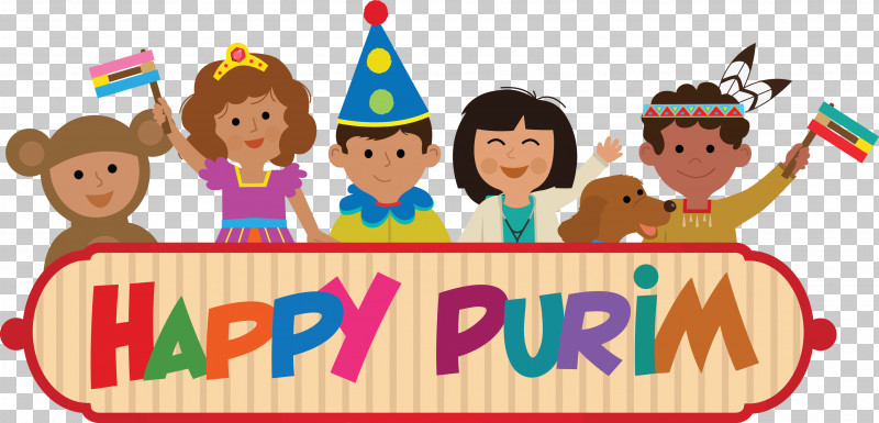 Purim Jewish Holiday PNG, Clipart, Birthday, Cartoon, Child, Friendship, Fun Free PNG Download