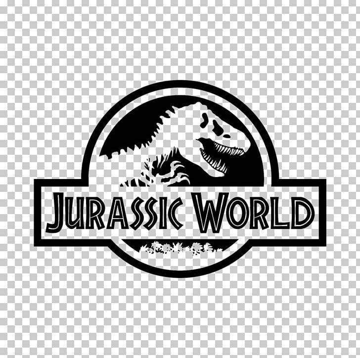 Jurassic Park Logo Dinosaur PNG, Clipart, Black And White, Brand, Dinosaur, Film, Graphic Design Free PNG Download