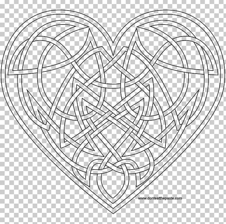 Celtic Knot Coloring Book Mandala Celtic Art Celts PNG, Clipart ...