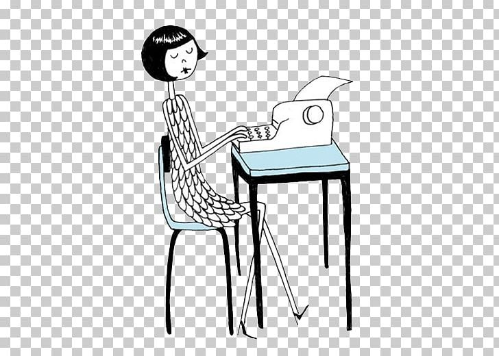 Writing baby. Blog text s png
