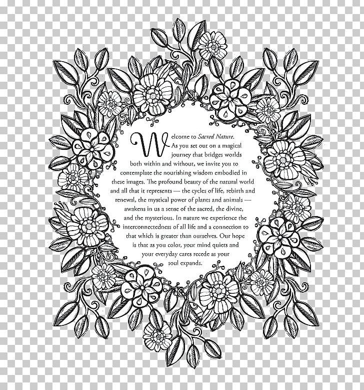 The Nature Coloring Book Stock Photography Graphics PNG ...
