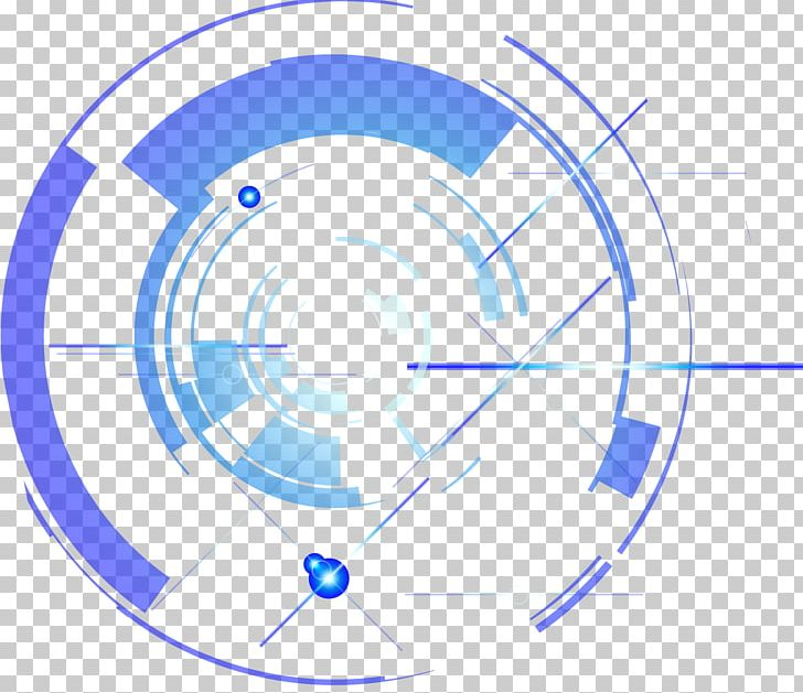 Decorative Circle Of Science And Technology PNG, Clipart, Angle, Area, Blue, Circle, Decorative Circle Free PNG Download