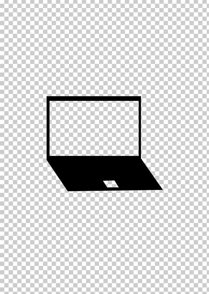 Laptop PNG, Clipart, Angle, Area, Black, Black And White, Brand Free PNG Download
