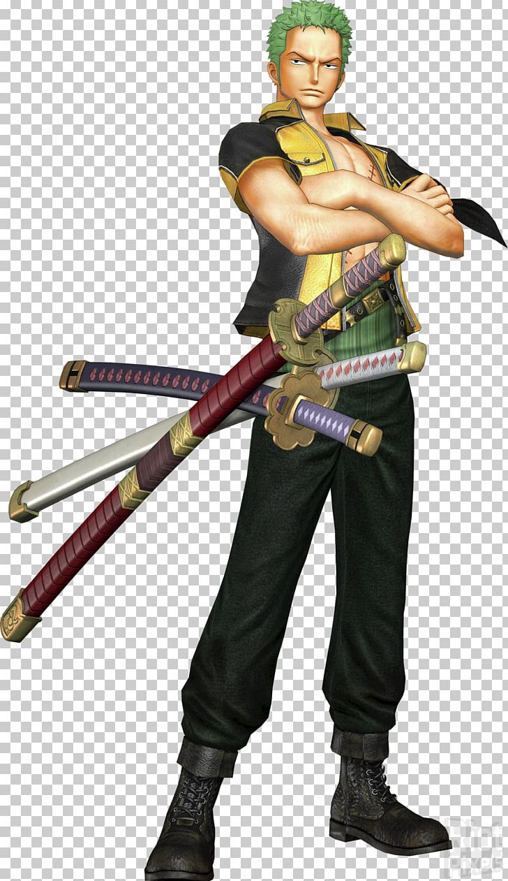 Roronoa Zoro One Piece: Pirate Warriors 3 Monkey D. Luffy Nami PNG, Clipart, Action Figure, Anime, Cartoon, Cold Weapon, Costume Free PNG Download