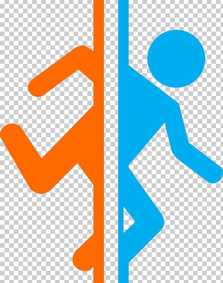 Portal 2 Half Life Video Game Logo Png Clipart Angle Aperture Laboratories Arcade Game Area Art