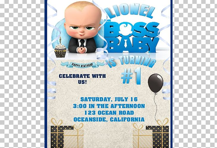 Wedding Invitation Party Convite Birthday Png Clipart Adult Baby Shower Birthday Blue Boss Baby Free Png
