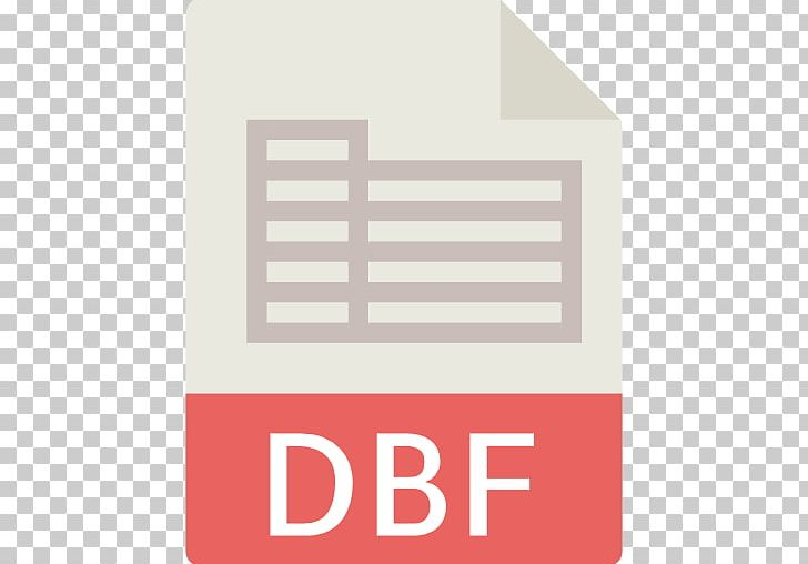 dbf Computer File File Format Filename Extension DBase PNG, Clipart