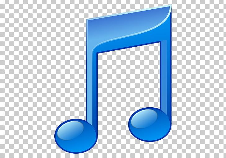 Music Blue Music Note Clip Art - BerkshireRegion