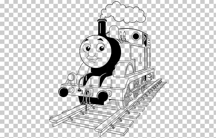 Thomas Train Coloring Book Diesel Locomotive Diesel Engine ...