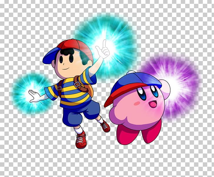 Kirby And The Amazing Mirror Art