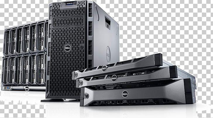 Dell PowerEdge Hewlett-Packard Computer Servers Blade Server PNG