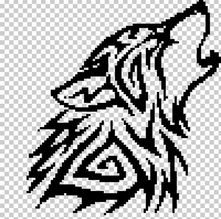 Gray Wolf Minecraft Pixel Art Png Clipart Are Art Bead