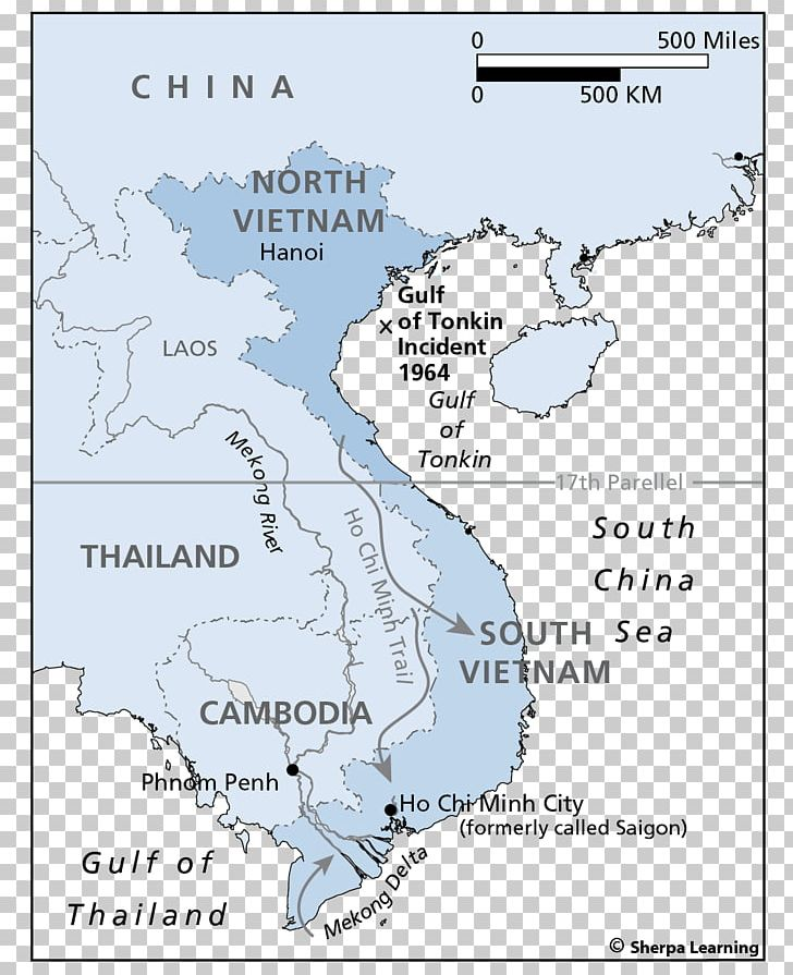 Map Of Asia Gulf Of Tonkin.Gulf Of Tonkin Incident World Map United States Png Clipart Area