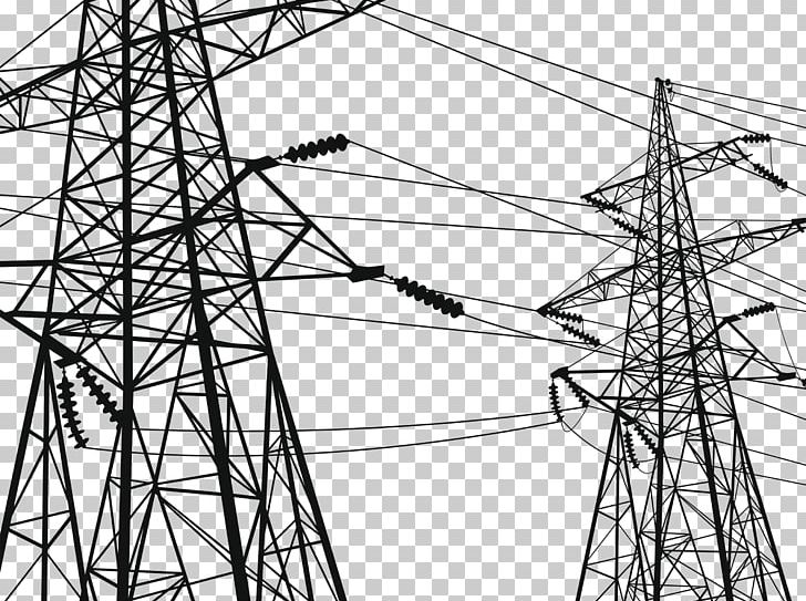 Electricity Transmission Tower High Voltage Electric Power Transmission Wire PNG, Clipart, Abstract Lines, Angle, City, Electrical Cable, Electrical Supply Free PNG Download