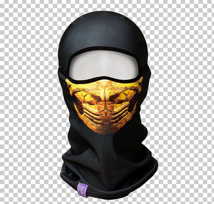 Scorpion Balaclava Mortal Kombat X Mask Kerchief Png Clipart