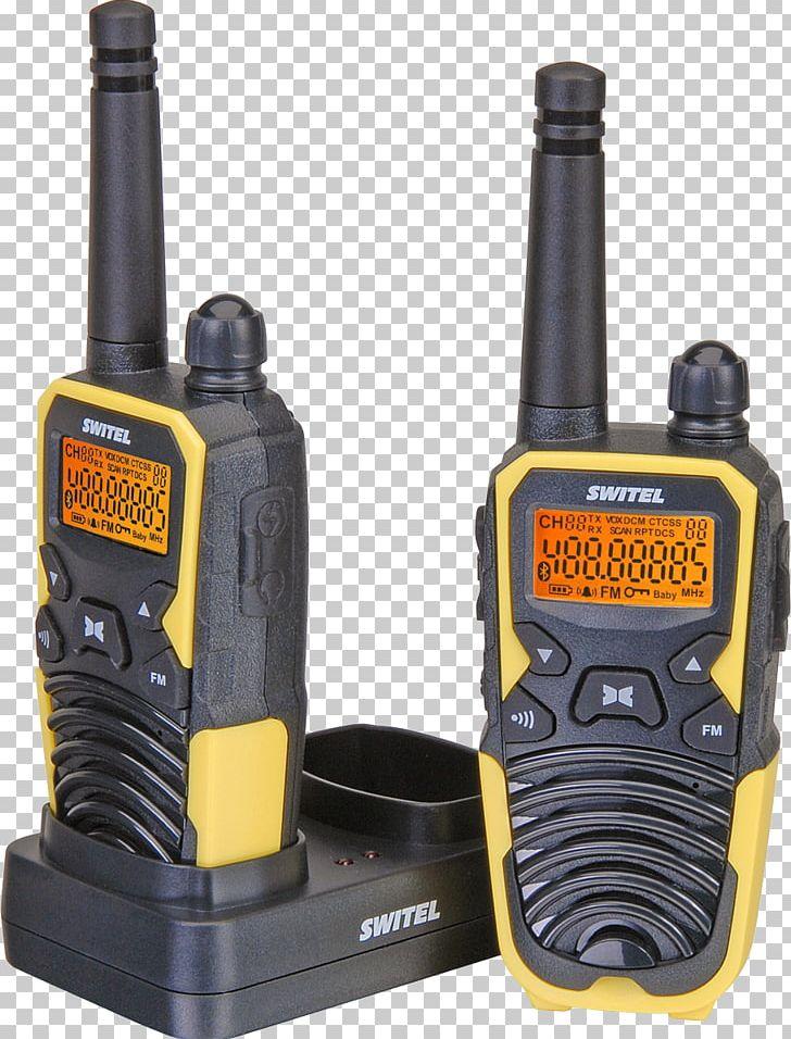 Walkie-talkie Two-way Radio PMR Handheld Transceiver Switel WTF5700 2-piece Set PMR Handheld Transceiver Switel WTC2700B 2-piece Set PNG, Clipart, Electronic Device, Electronics, Hardware, Headset, Midland Radio Free PNG Download