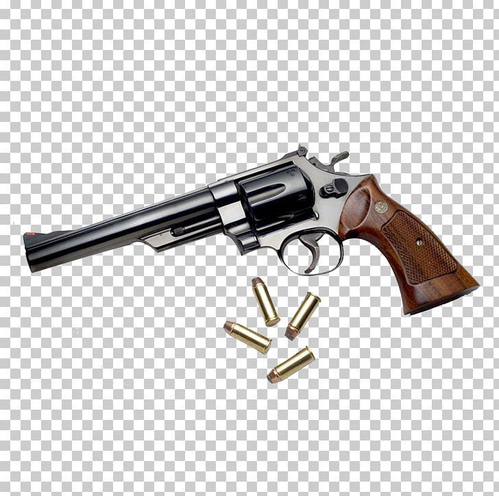 Bullet Firearm Revolver Pistol Weapon PNG, Clipart, 44