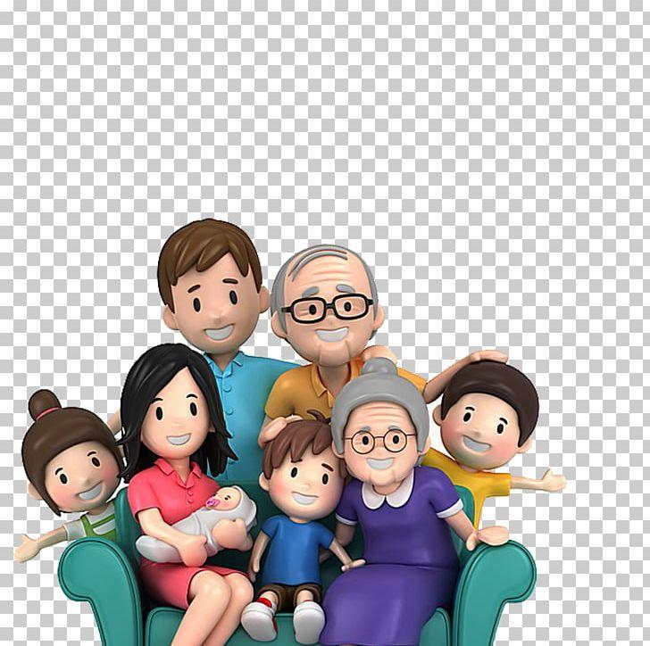 Family Cartoon Png Clipart Boy Child Conversation Desktop Wallpaper Display Resolution Free Png Download