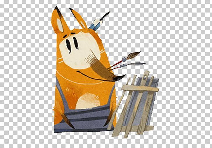 Telegram Sticker Іван VK Viber PNG, Clipart, Art, Cartoon, Fashion, Fox, Mammal Free PNG Download