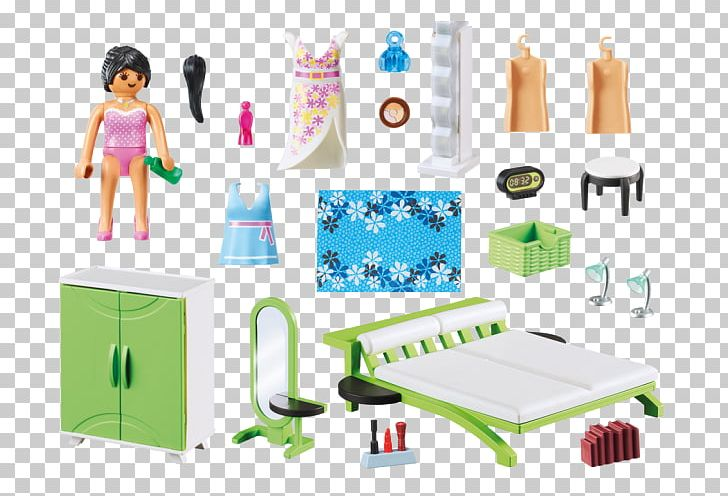 . PLAYMOBIL Bedroom Set Building Playmobil Modern House PNG  Clipart