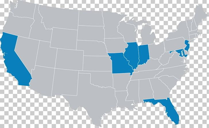 United States Blank Map U.S. State PNG, Clipart, Black ...