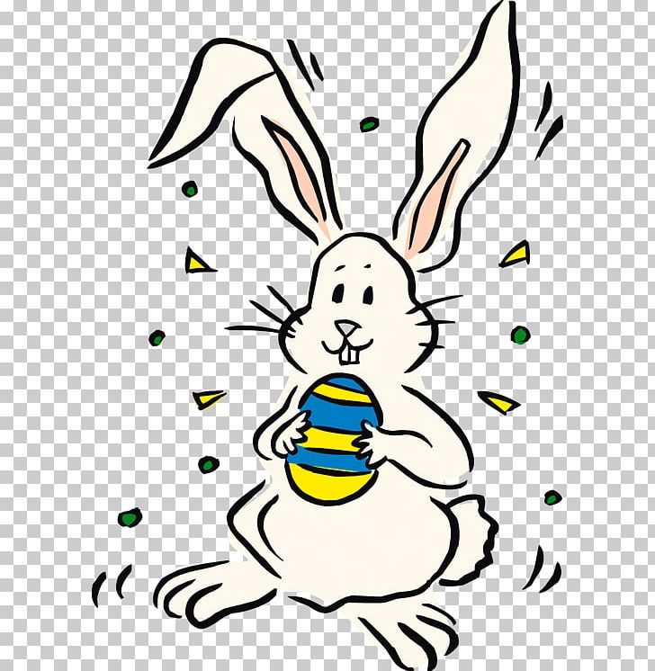 Easter Bunny Rabbit Illustration PNG, Clipart, Art, Artwork, Black And White, Cartoon, Easter Free PNG Download