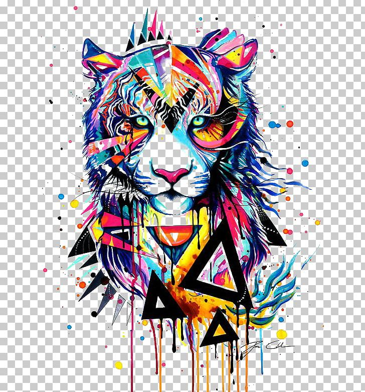 Tiger Watercolor Painting Drawing Illustration PNG, Clipart, Animal, Animals, Art, Art Museum, Big Cats Free PNG Download