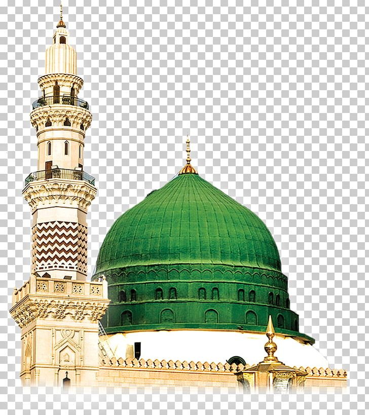 Al-Masjid An-Nabawi Green Dome Mosque PNG, Clipart, Almasjid Annabawi, Al Masjid An Nabawi, Building, Byzantine Architecture, Cdr Free PNG Download