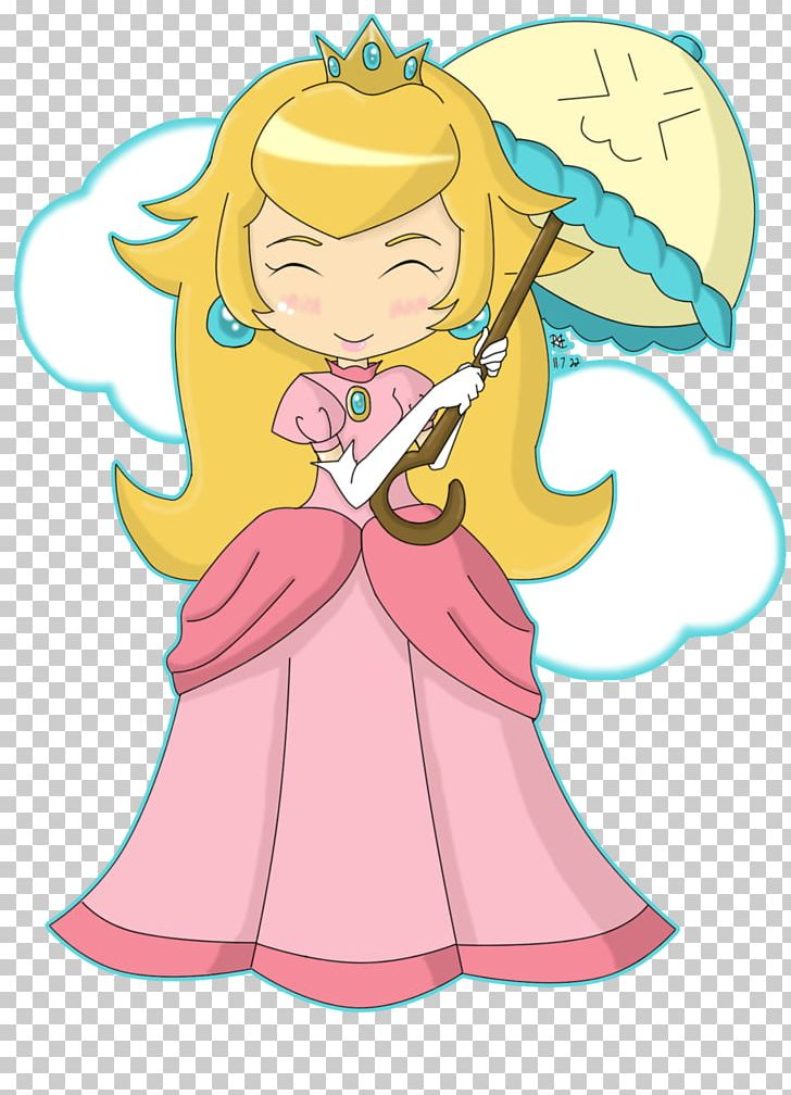 Princess Peach Drawing Artist Png Clipart Angel Anime