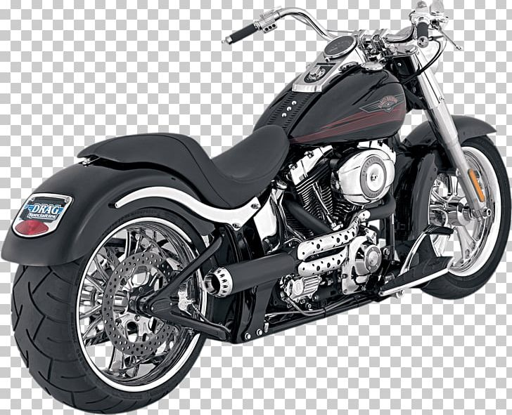 Exhaust System Softail Harley-Davidson FLSTF Fat Boy