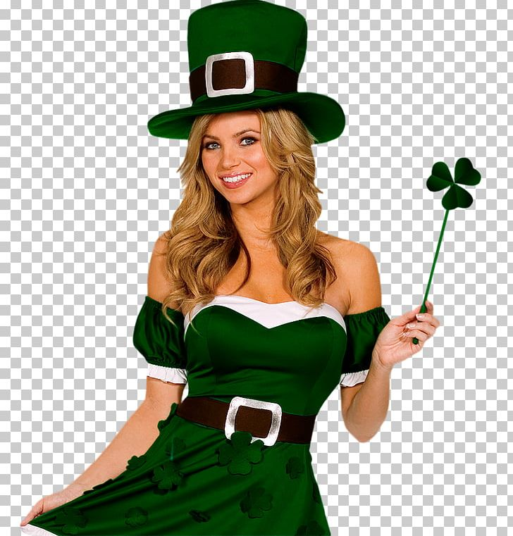 Saint Patrick's Day 17 March Woman Costume PNG, Clipart, Costume, March, Woman Free PNG Download