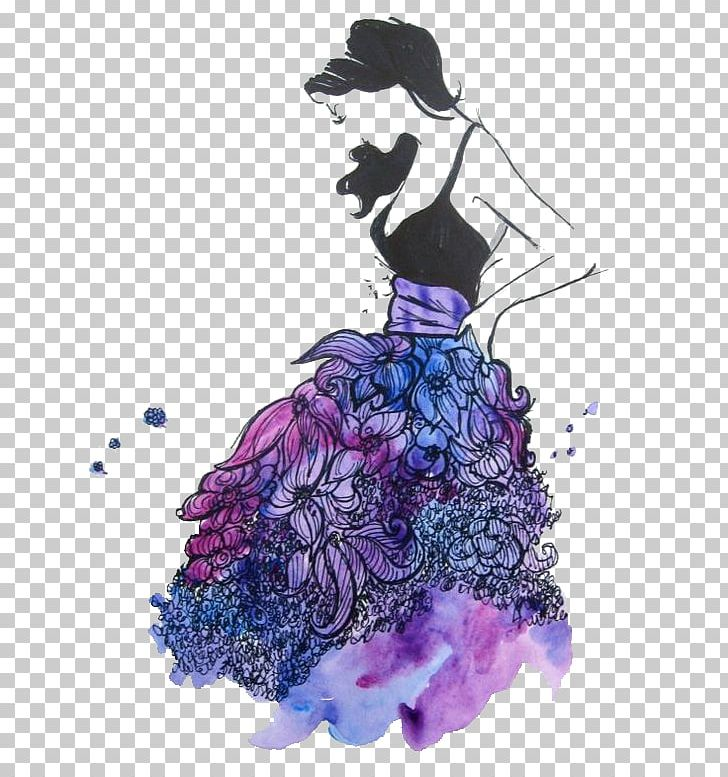 Drawing Dress Fashion Illustration Sketch Png Clipart Art Cartoon Costume Design Drawing Dress Free Png Download