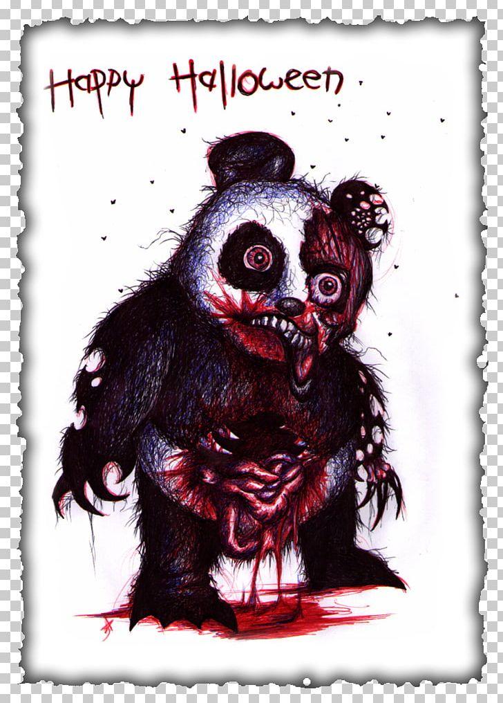 Bear Giant Panda Zombie Drawing Png Clipart Animals Art Bear