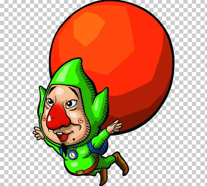 The Legend Of Zelda: The Wind Waker Freshly-Picked Tingle's Rosy Rupeeland Hyrule Warriors Link The Legend Of Zelda: Majora's Mask PNG, Clipart, Christmas, Christmas Ornament, Fictional Character, Food, Gaming Free PNG Download