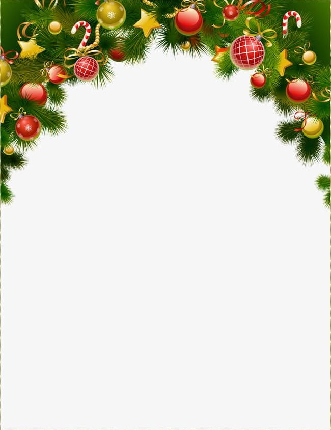 Christmas Ball Clipart.Christmas Ball Decoration Border Background Png Clipart