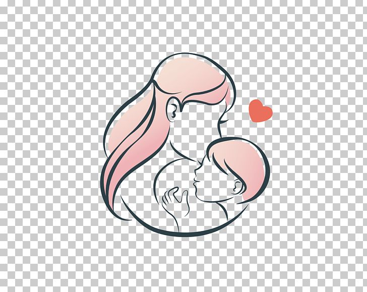 Mother Infant Love Illustration Png Clipart Adult Child Arm Baby Bird Cartoon Free Png Download