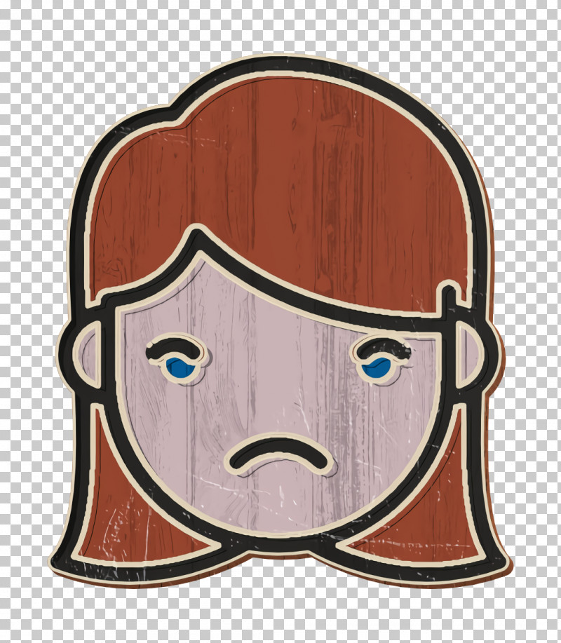 People Icon Sad Icon Linear Color Emoticons Icon PNG, Clipart, Cartoon, Headgear, Linear Color Emoticons Icon, People Icon, Personal Protective Equipment Free PNG Download
