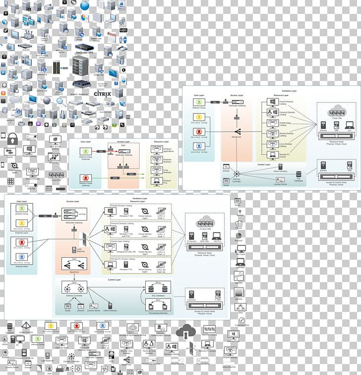 omnigraffle stencil xendesktop diagram png, clipart, angle, architecture,  area, citrix systems, computer network diagram free png download