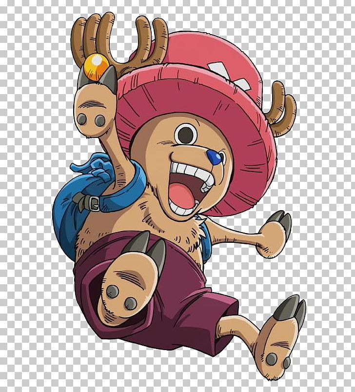 Tony Tony Chopper Monkey D Luffy One Piece Manga Png