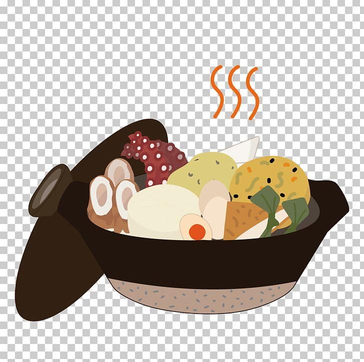 Oden Ganmodoki Hanpen Chikuwa Octopus PNG, Clipart, Basket, Chikuwa, Cuisine, Daikon, Dish Free PNG Download