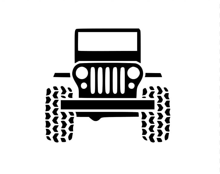 Jeep Wrangler Car Chrysler Decal Png Clipart Angle Automotive