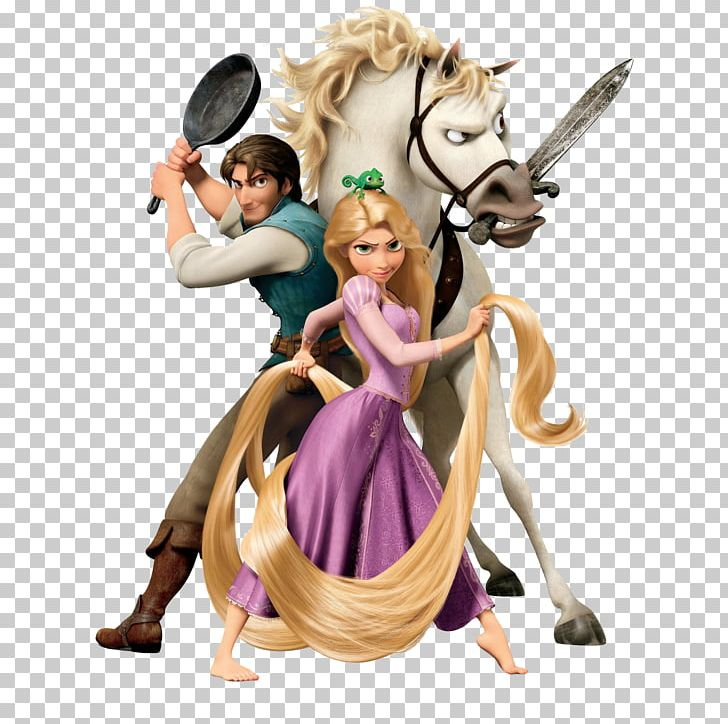 Flynn Rider Rapunzel Tangled The Video Game Pascal And Maximus The