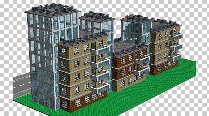 Building Apartment Portable Network Graphics Balcony LEGO Digital