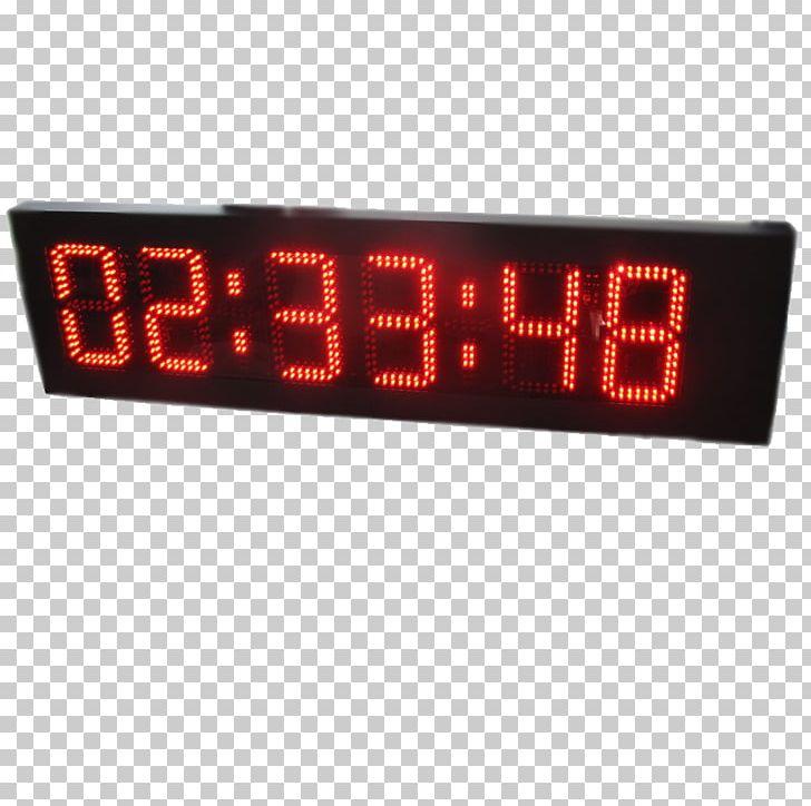 Display Device Digital Clock Liquid-crystal Display Seven