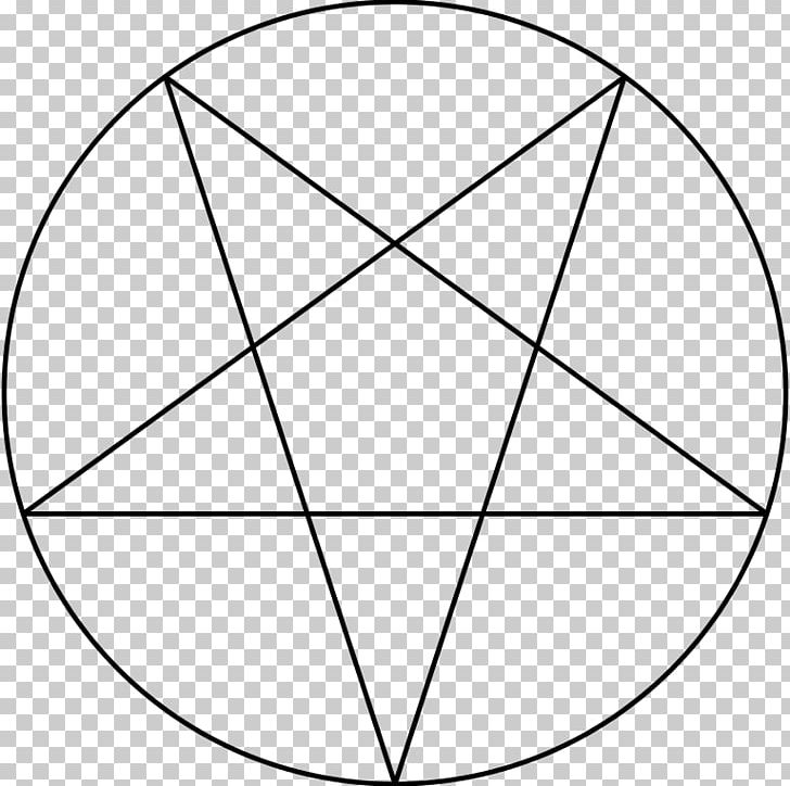 Church Of Satan Pentagram Pentacle Satanism Sigil Of Baphomet PNG, Clipart, Angle, Area, Baphomet, Black And White, Church Of Satan Free PNG Download