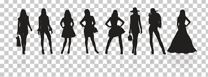Fashion Design Silhouette Png Clipart Black Black And White Designer Desktop Wallpaper Fashion Free Png Download