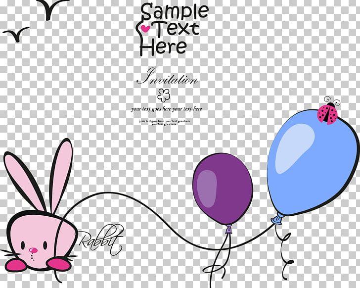 Rabbit PNG, Clipart, Air Balloon, Animal, Area, Balloon, Balloon Cartoon Free PNG Download