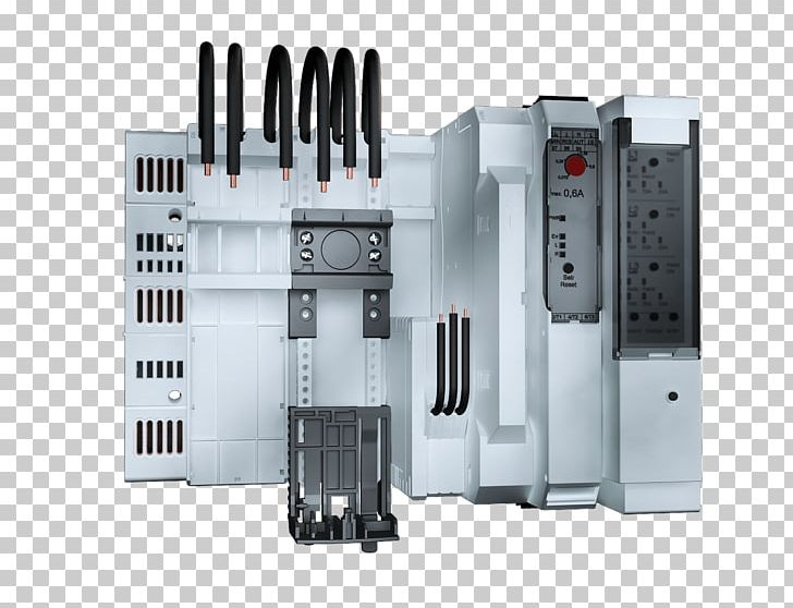 Circuit Breaker Rittal Busbar Electric Power Distribution System PNG
