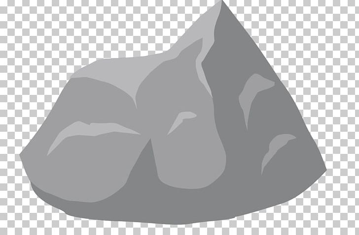 Rock Png Clipart Angle Black And White Boulder Cartoon Clip Art Free Png Download